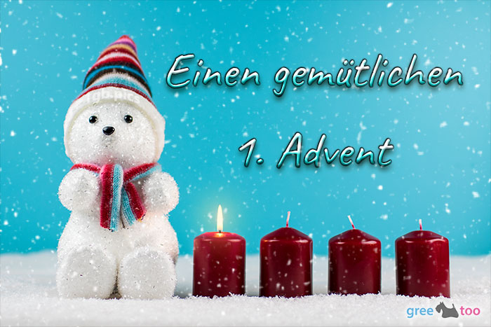 Gemuetlichen 1 Advent Bild - 1gb.pics