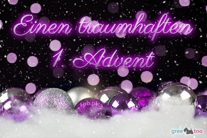 Traumhaften 1 Advent Bild - 1gb.pics