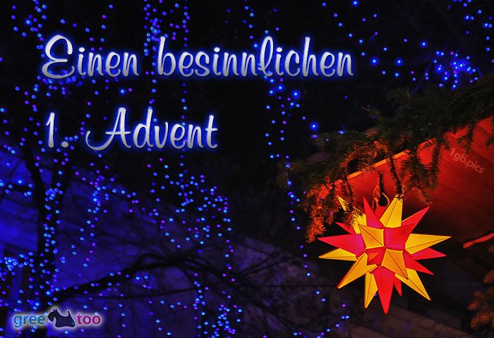 Stern Lichter Besinnlichen 1 Advent