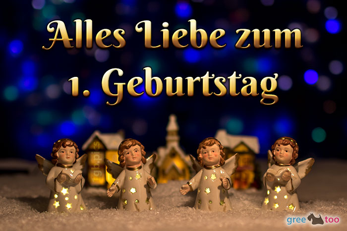 Alles Liebe 1 Geburtstag Bild - 1gb.pics