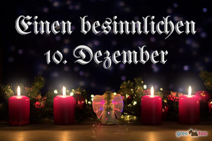 Besinnlichen 10 Dezember Bild - 1gb.pics