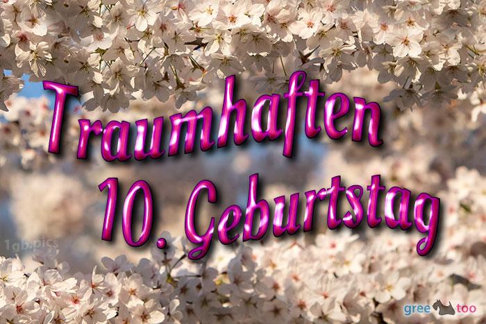 Traumhaften 10 Geburtstag Bild - 1gb.pics