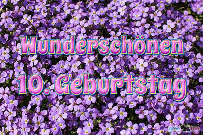 Wunderschoenen 10 Geburtstag Bild - 1gb.pics