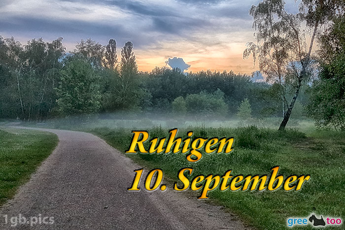 Nebel Ruhigen 10 September Bild - 1gb.pics
