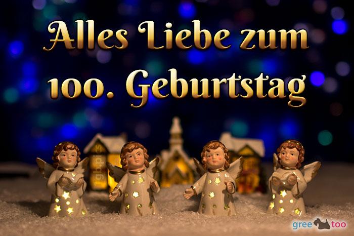 Alles Liebe 100 Geburtstag Bild - 1gb.pics