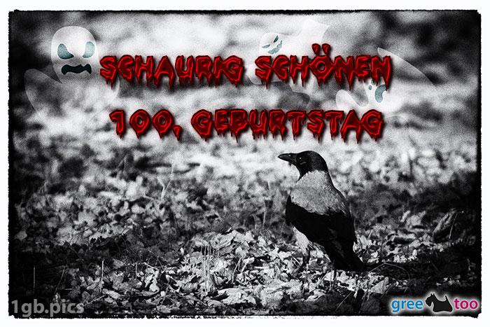 Kraehe Schaurig Schoenen 100 Geburtstag Bild - 1gb.pics
