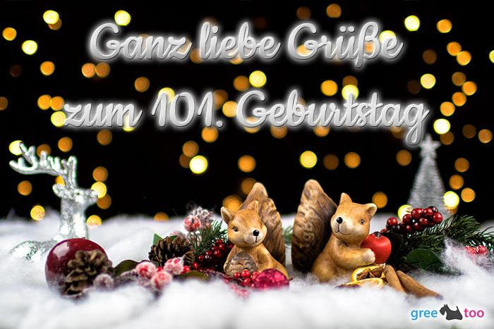 Zum 101 Geburtstag Bild - 1gb.pics