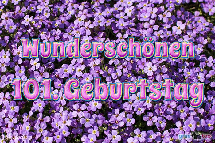 Wunderschoenen 101 Geburtstag Bild - 1gb.pics