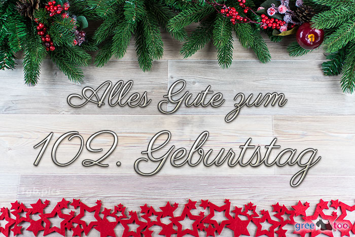 Alles Gute Zum 102 Geburtstag Bild - 1gb.pics
