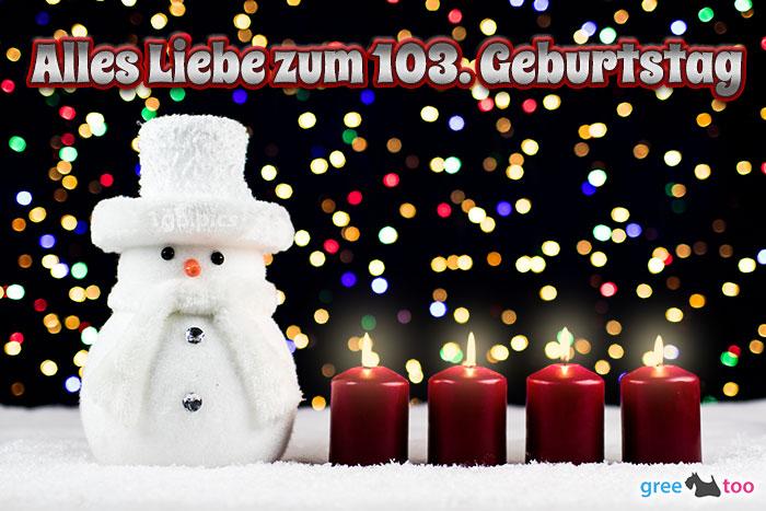 Alles Liebe Zum 103 Geburtstag Bild - 1gb.pics