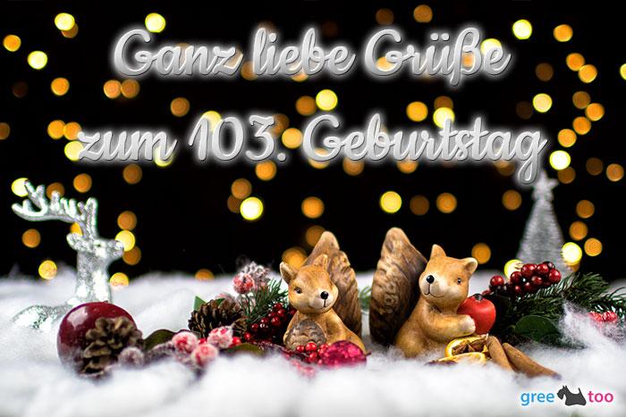 Zum 103 Geburtstag Bild - 1gb.pics