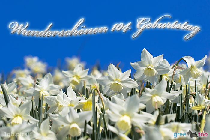Wunderschoenen 104 Geburtstag Bild - 1gb.pics