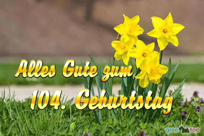 Alles Gute 104 Geburtstag Bild - 1gb.pics