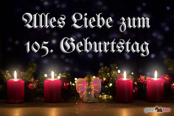 Alles Liebe 105 Geburtstag Bild - 1gb.pics