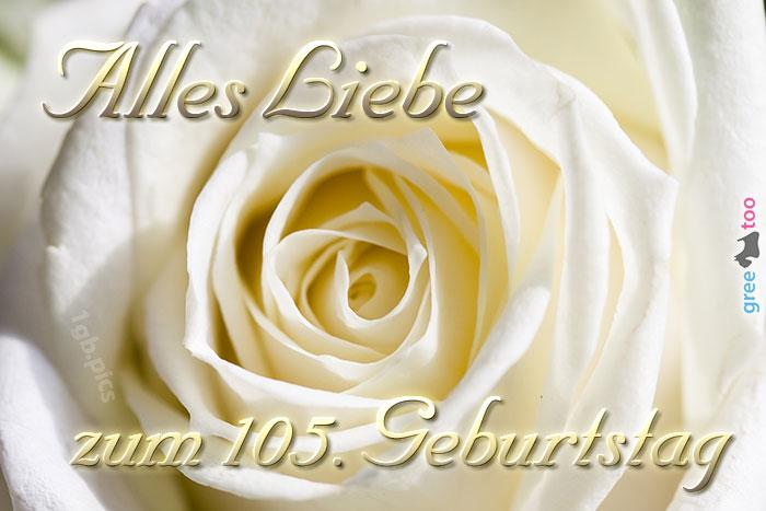 Zum 105 Geburtstag Bild - 1gb.pics
