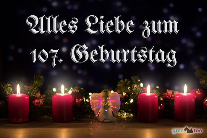 Alles Liebe 107 Geburtstag Bild - 1gb.pics