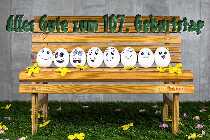 Alles Gute 107 Geburtstag Bild - 1gb.pics