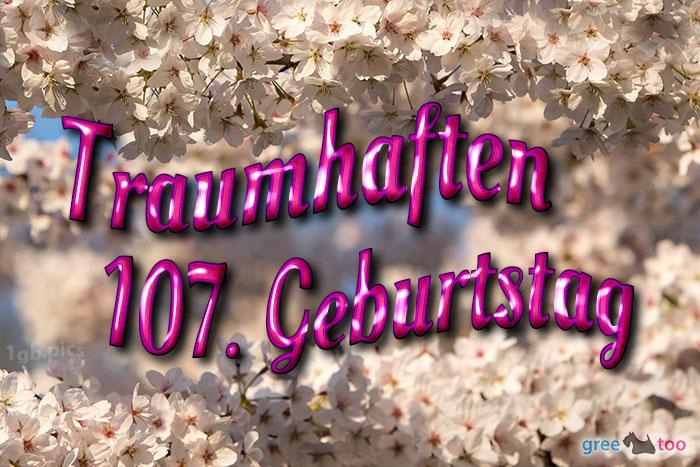 Traumhaften 107 Geburtstag Bild - 1gb.pics