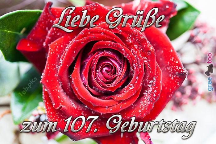 Zum 107 Geburtstag Bild - 1gb.pics