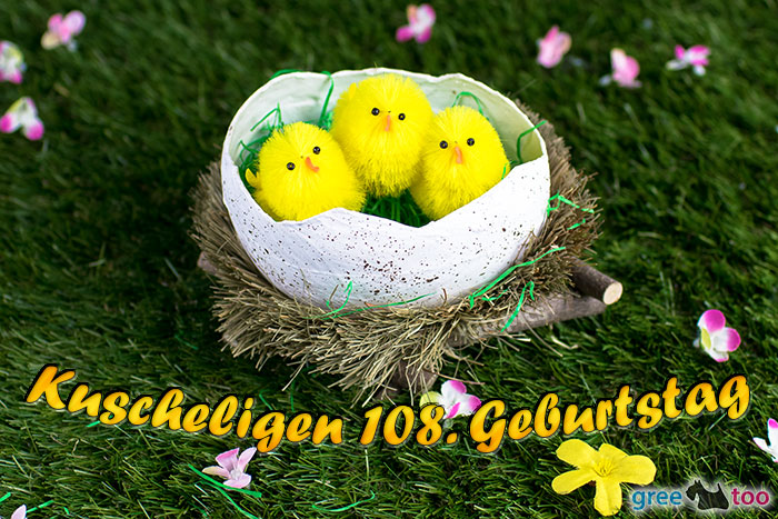 Kuscheligen 108 Geburtstag Bild - 1gb.pics