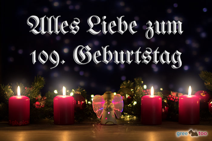 Alles Liebe 109 Geburtstag Bild - 1gb.pics
