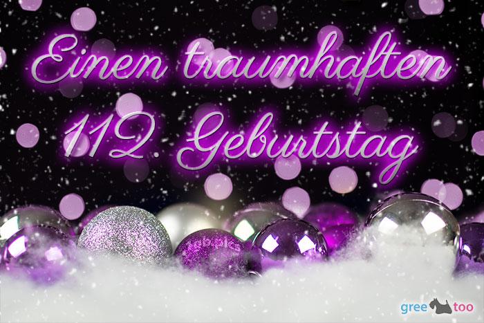 Traumhaften 112 Geburtstag Bild - 1gb.pics