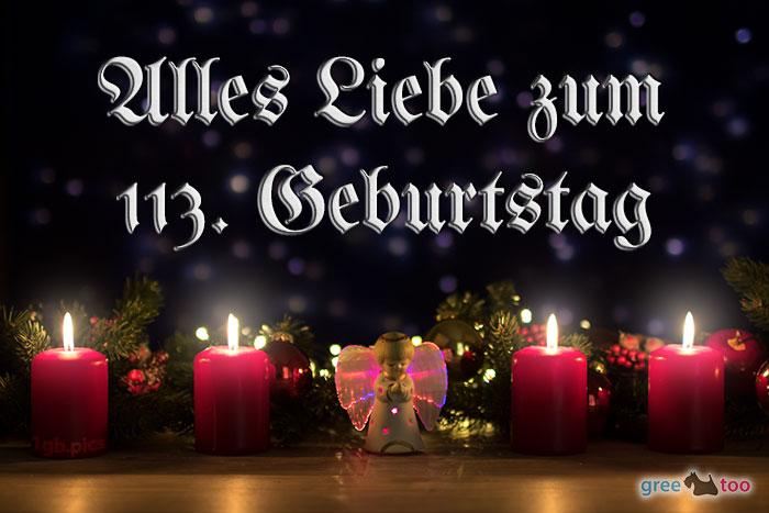 Alles Liebe 113 Geburtstag Bild - 1gb.pics