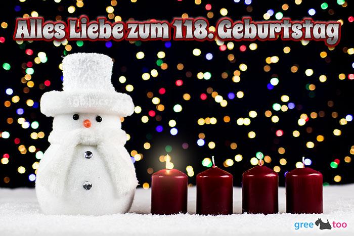 Alles Liebe Zum 118 Geburtstag Bild - 1gb.pics
