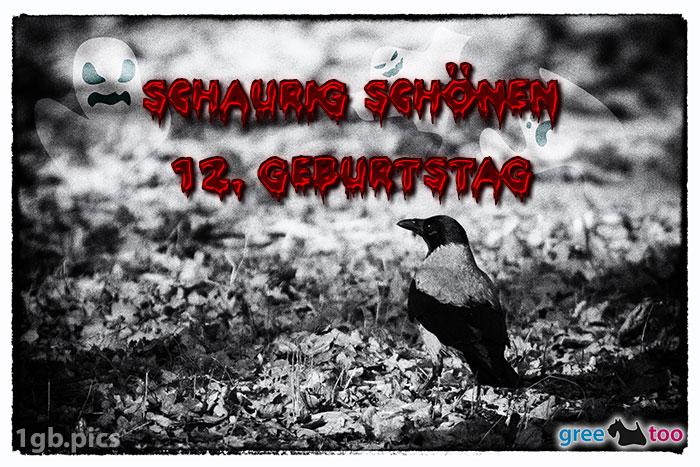 Kraehe Schaurig Schoenen 12 Geburtstag Bild - 1gb.pics
