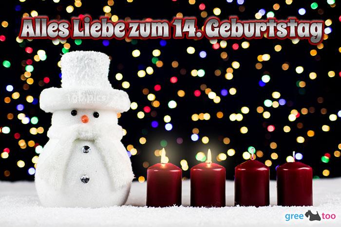 Alles Liebe Zum 14 Geburtstag Bild - 1gb.pics