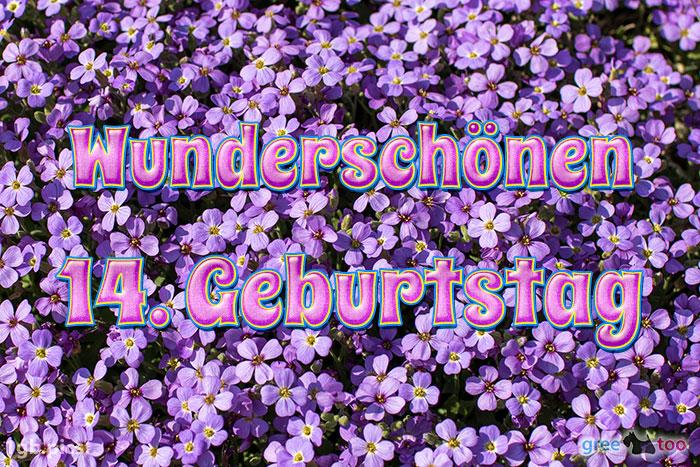 Wunderschoenen 14 Geburtstag Bild - 1gb.pics