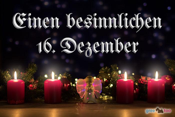 Besinnlichen 16 Dezember Bild - 1gb.pics