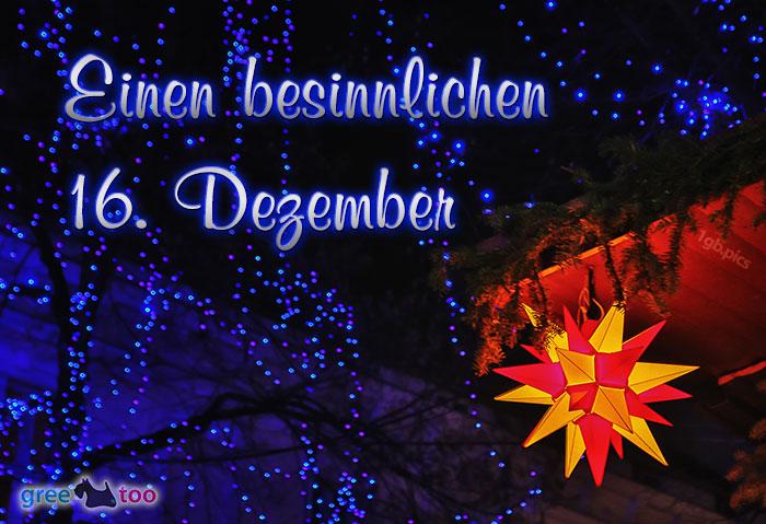 Stern Lichter Besinnlichen 16 Dezember Bild - 1gb.pics