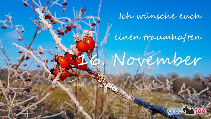 Einen Traumhaften 16 November Bild - 1gb.pics