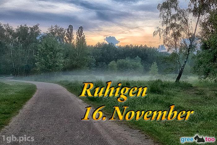Nebel Ruhigen 16 November Bild - 1gb.pics