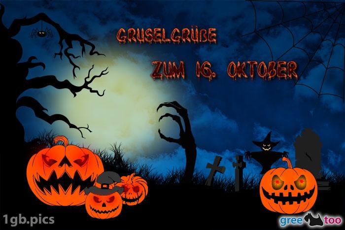 Halloween Gruselgruesse Zum 16 Oktober Bild - 1gb.pics