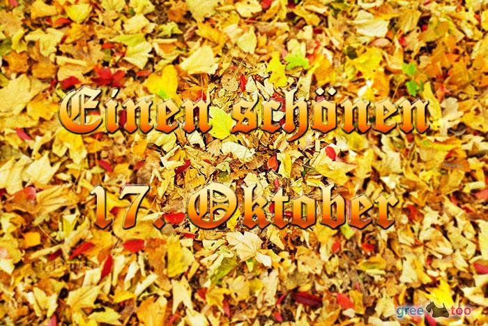 Einen Schoenen 17 Oktober Bild - 1gb.pics