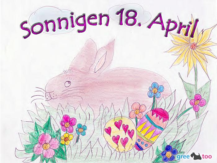 Sonnigen 18 April Bild - 1gb.pics