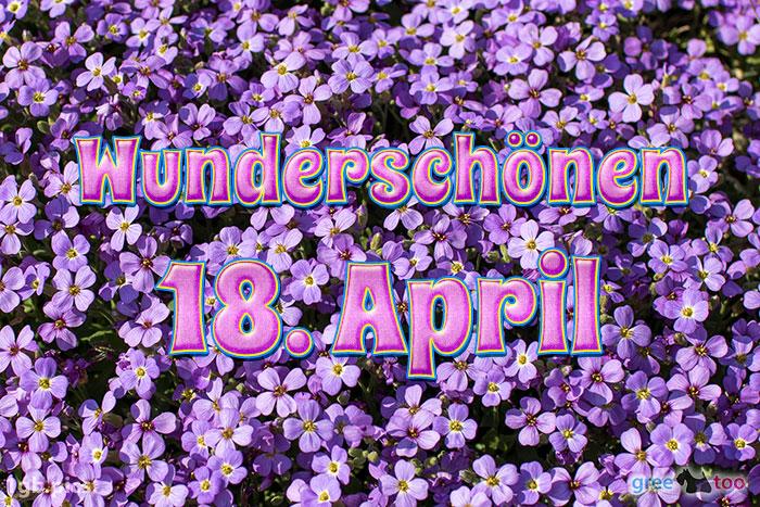 Wunderschoenen 18 April Bild - 1gb.pics