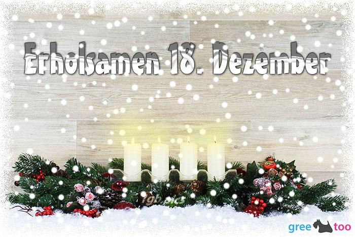 Erholsamen 18 Dezember Bild - 1gb.pics