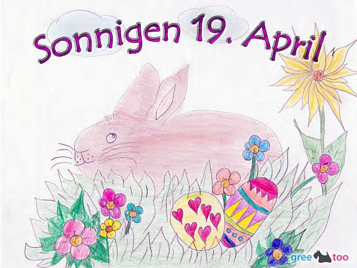 Sonnigen 19 April Bild - 1gb.pics