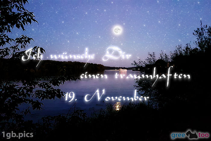 Mond Fluss Einen Traumhaften 19 November Bild - 1gb.pics