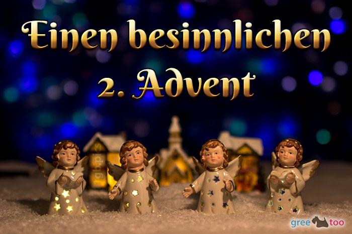 Besinnlichen 2 Advent Bild - 1gb.pics