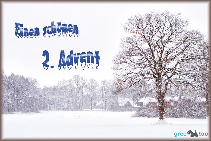 Einen Schoenen 2 Advent Bild - 1gb.pics