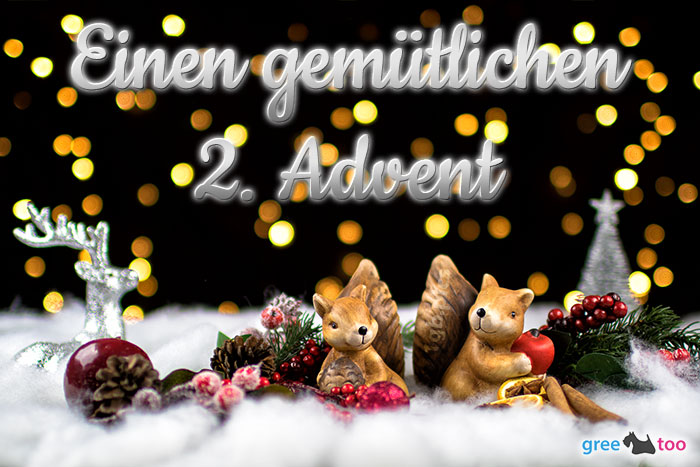 Gemuetlichen 2 Advent Bild - 1gb.pics
