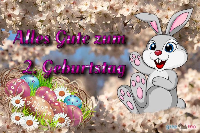 Alles Gute 2 Geburtstag Bild - 1gb.pics