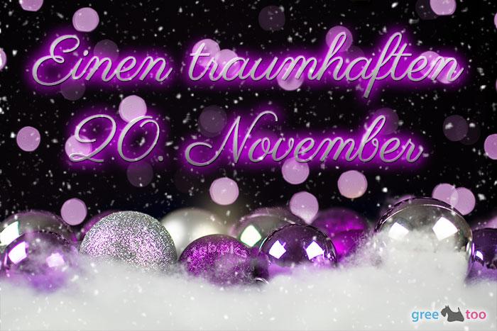 Traumhaften 20 November Bild - 1gb.pics