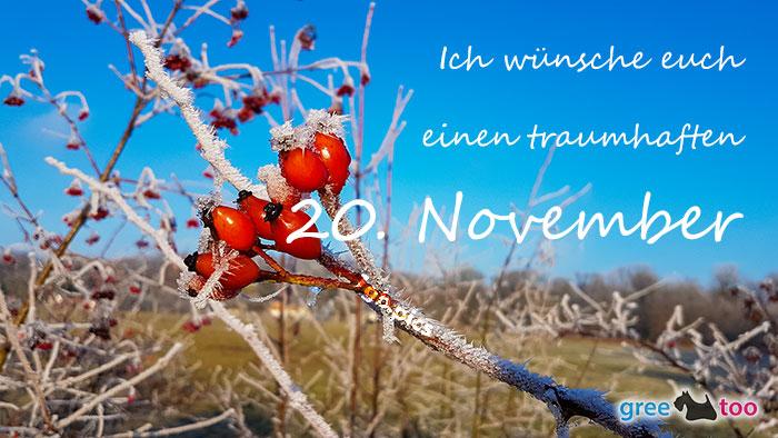 Einen Traumhaften 20 November Bild - 1gb.pics