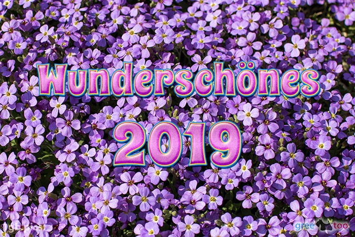 Wunderschoenes 2019 Bild - 1gb.pics