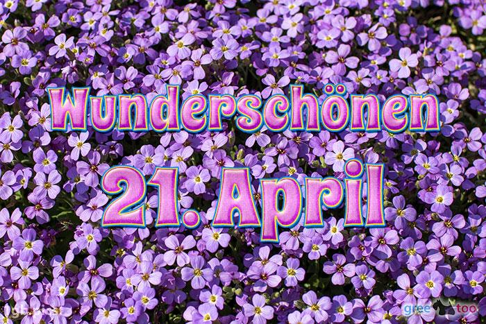 Wunderschoenen 21 April Bild - 1gb.pics